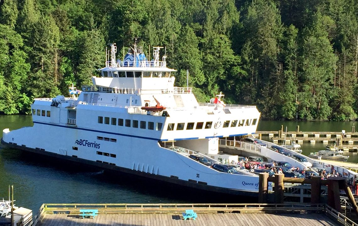 ferry to bowen island, island pacific school
