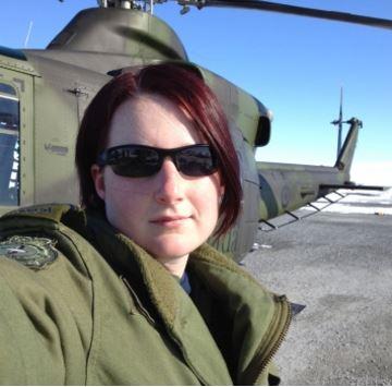 Rising Above – IPS Grad Liz Williams, Captain, RCAF
