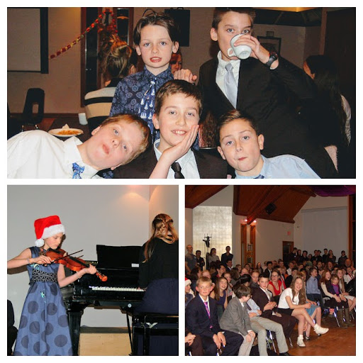 Student Variety Show and Parent Social Dec. 21, 2017