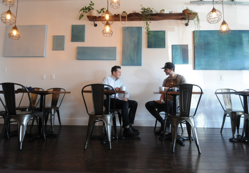 Phil Day (2007 alum) and Clay Spalding just opened Scratch Kitchen in Deep Cove
