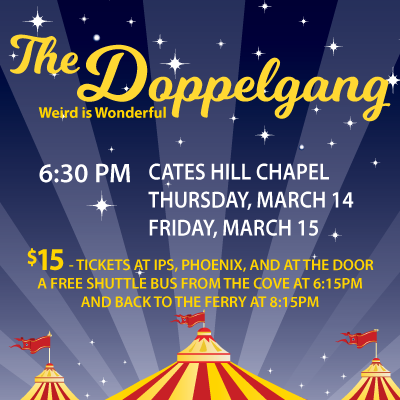 MAINSTAGE: The Doppelgang March 14th & 15th, 2019
