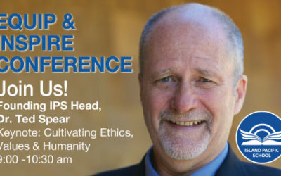 Founding IPS Head Keynote: Cultivating Ethics, Values & Humanity May 1, 2019