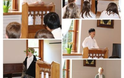 Student Public Speaking Competition: Persuasive, Greek Mythology, World Events & After Dinner Speeches