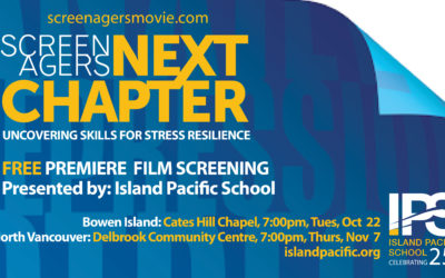 Free Film Screening: Screenagers NEXT CHAPTER Oct 22nd & Nov 7th
