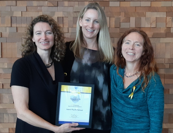 Island Pacific School nominated for a Giving Hearts Award for Outstanding Youth Philanthropist