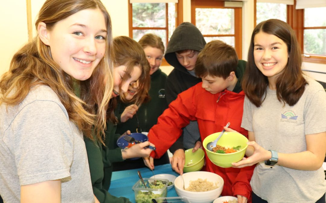 Service in Action: Students Raise Awareness About The Benefits Of A Plant Based Diet On Climate